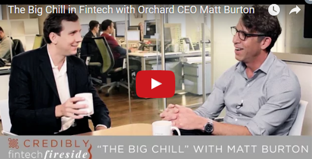 The Big Chill in Fintech?