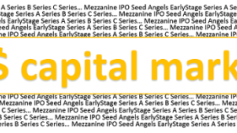 Fintech Investing / Capital Markets + Wealth Management – January 2016 Capital Raises