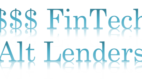 Fintech Alt Lenders On The Hot Seat